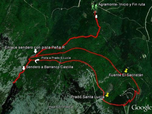 Imagen ruta peña roya eti