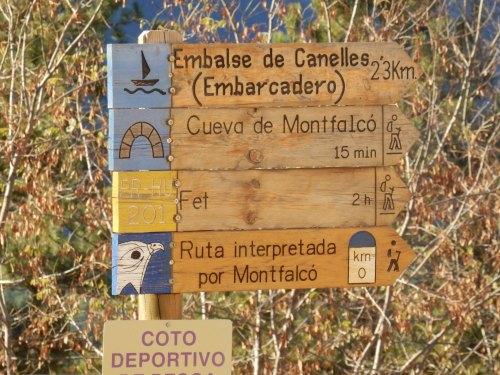 Excursiones desde Mont Falcó hacia el pantano