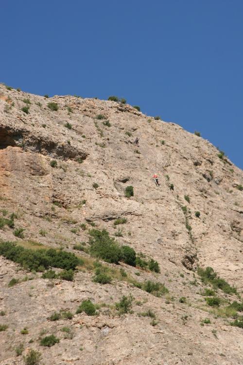 escaladores, escalar en Agüero